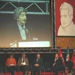Baldina Di Vittorio sul palco del Piccinni