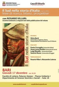 Locandina seminario web Bari